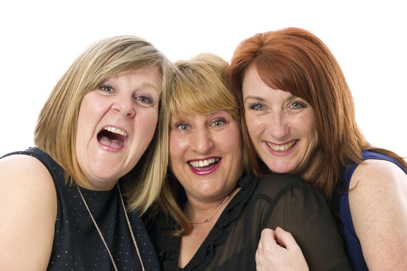 3 ladies